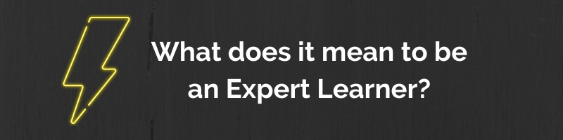 What does it mean to be an expert learner?
